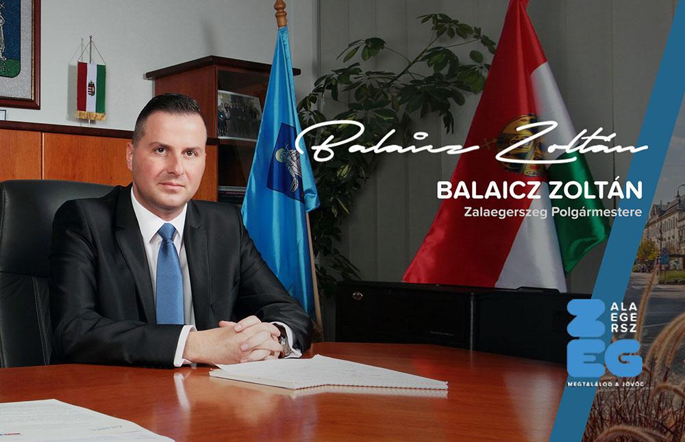 Balaicz Zoltán Zalaegerszeg Polgármestere